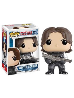 Funko Pop! Civil War: Winter Soldier