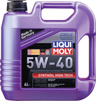 1915 Liqui Moly  Synthoil High Tech 5W-40 (4л.)