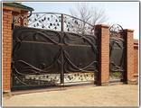 Кованые ворота и калитка Брянск цена