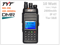 Рация TYT MD-398 Timeslot: II, IP67