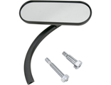 13-412 Зеркало Arlen Ness MIRROR MINI-OVAL MICRO BLACK (левое)
