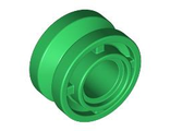 Wheel 11mm D. x 8mm with Center Groove, Green (42610 / 4566175)