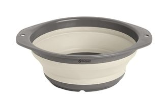 Миска складная Outwell Collaps Bowl M cream white