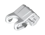 Hero Factory Fist with Axle Hole, White (93575 / 4610918 / 6134192)