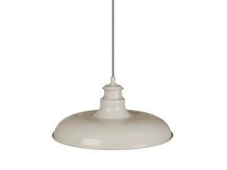 Toulon Pendant Light in Chalk - Steel  цвет Мел  арт.LCH01