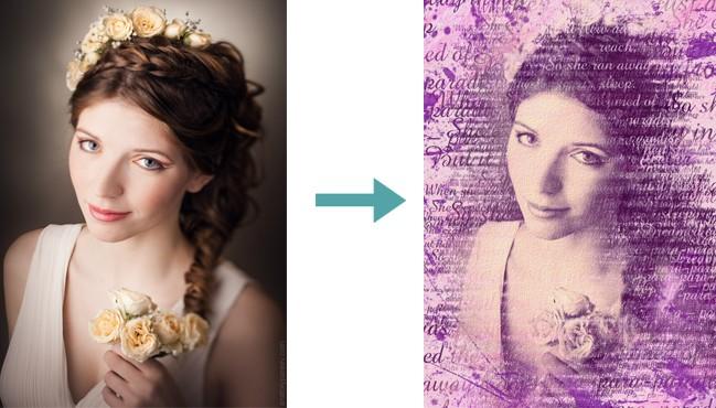 Как из создать портрет