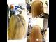 Окрашивание волос в один цвет