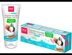 """Детская натуральная зубная паста Splat """"Фруктовое мороженое"""" от 2 до 6 лет, 50 мл"""