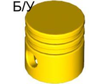 ! Б/У - Technic Engine Piston Round, Yellow (2851 / 285124 / 4112203) - Б/У