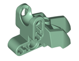 Hero Factory Foot with Three Short Claws and Ball Joint Socket, Sand Green (15976 / 6197561)