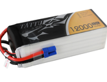 Tattu 12000mAh 22.2V 15/30C 6S1P Lipo battery pack