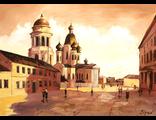 Картины с храмом