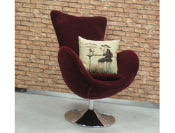 Кресло Egg Chair (бордовое)