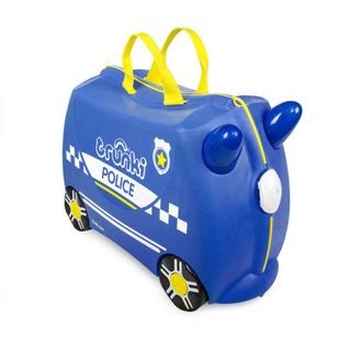 Чемодан на колесиках Полицейская машина TRUNKI Percy the Police
