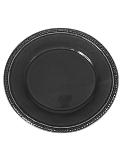Блюдо  PLATE ARAGON ANTHRACITE 32X30CM EARTHENWAREарт.32125