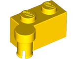Hinge Brick 1 x 4 Swivel Top, Yellow (3830 / 4241117 / 6137910)