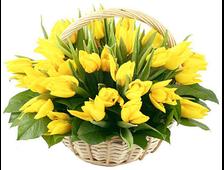 Корзина «Весна пришла»