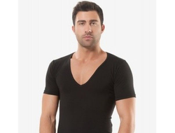 Мужские футболки 45% хлопок 45% модал 10% эластан