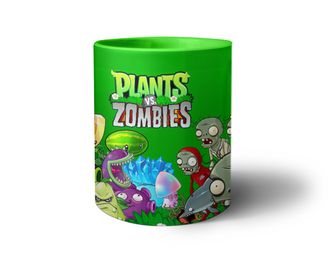 Кружка Plants vs Zombies