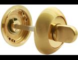 Завертка сантехническая RUCETTI RAP WC SG/GP Цвет Матовое золото/золото