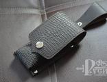 Кожаный чехол для складных ножей