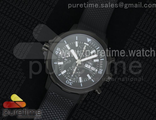 Aquatimer Chrono IW3768 PVD Black