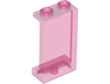 Panel 1 x 2 x 3 with Side Supports - Hollow Studs, Trans-Dark Pink (87544 / 6152451 / 6238031)