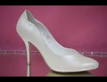 Свадебные туфли айвори средний каблук  № 761-1593=6