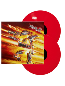 Judas Priest - FIREPOWER 2-LP solid red