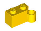 Hinge Brick 1 x 4 Swivel Base, Yellow (3831 / 4241119 / 6137916)