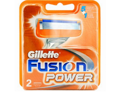 Лезвия GILLETTE FUSION POWER 2 ШТ