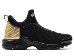 Nike Air Max Plus Slip SP Black/Metallic Gold/Black Мужские (40-45)