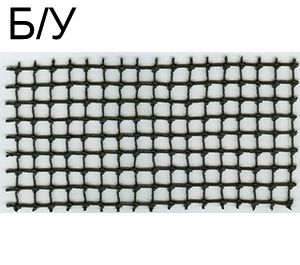 ! Б/У - String, Net 8 x 16 Rectangle, Black (bb68) - Б/У