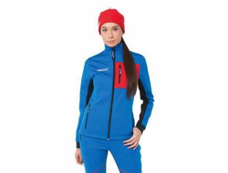 Жен.куртка Softshell Warm (син.)