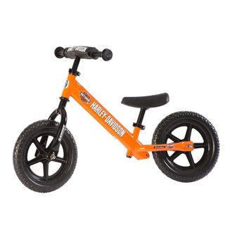Беговел STRIDER 12 Harley-Davidson Sport orange оранжевый