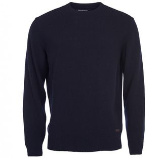Свитер BARBOUR Patch Crew Neck Jumper Navy