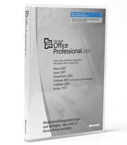 Microsoft Office 2007 Professional NO DVD MLK 269-11634