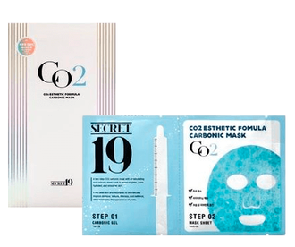 Маска-активатор КАРБОКСИТЕРАПИЯ/ПАУЧ SECRET19 CO2 Esthetic Formula Carbonic Mask, 1шт 15мл