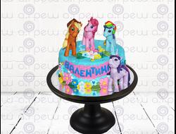 """Торт № 3 """"Литл Пони"""" (Детские торты)"""