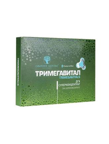 Тримегавитал. ДГК Суперконцентрат Trimegavitals. DHA Superconcentrate  500061