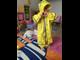 Детский грязезащитный непромокаемый комбинезон mammie в мешочке индиго