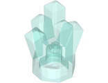 Rock 1 x 1 Crystal 5 Point, Trans-Light Blue (52 / 4155514 / 4247131 / 6296003)