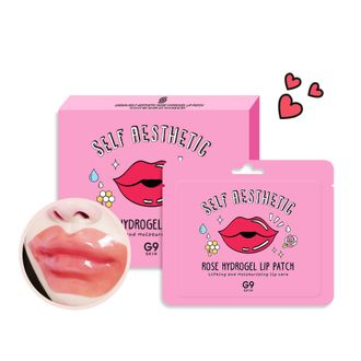 Патчи для губ G9 Rose Hydrogel Lip Patch 3гр