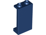 Panel 1 x 2 x 3 with Side Supports - Hollow Studs, Dark Blue (87544 / 4667331)