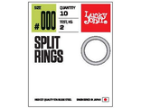 Кольца заводные LJ Pro Series SPLIT RINGS 4.0мм / 3кг (10шт)