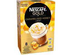 Nescafé Gold Caramelised Honey Latte