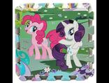Развивающий детский коврик пазл Disney My Little Pony