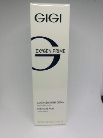 OXYGEN PRIME - ADVANCED NIGHT CREAM  50 ml