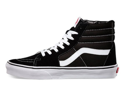 "Vans ""Old Skool"" High Black/White (36-45) арт-016"