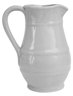 Кувшин VASE   INO GREY 24X18.5X31CM EARTHENWARE 30630